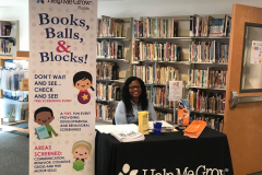 Books, Balls, & Blocks events promote appropriate and interactive play while screening children to evaluate their development.